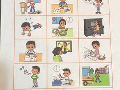 Step2 で学習する単語(動詞動作)