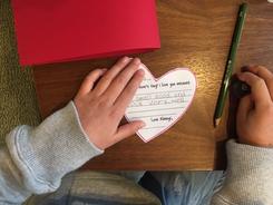Happy Valentine's day&未就学児・小学生クラスの様子