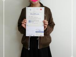 英検3級おめでとうございます!