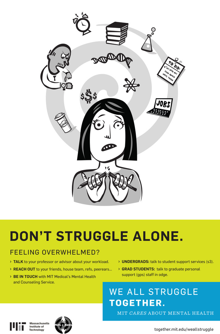 MIT Mental Health Poster Campaign