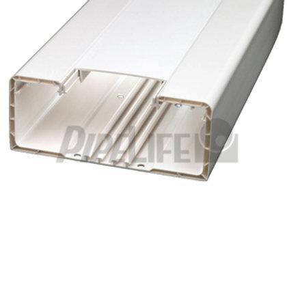 Brüstungskanal weiß, 70 x 130 mm