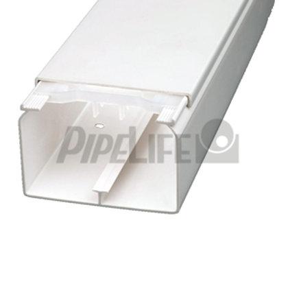Leitungsführungskanal weiß, 10 x 20 mm, OT + UT
