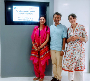 With Arabella Kurtz, PCR - Delhi 2017