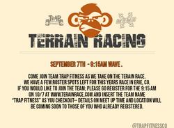 Terrain Race Flyer