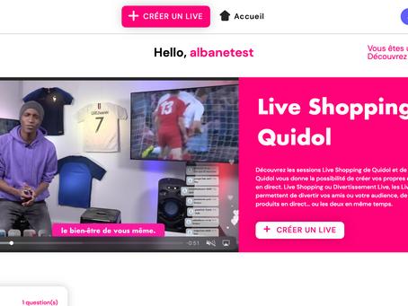 Gérer les produits pour le live shopping