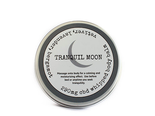 Tranquil Moon, CBD Infused Body Balm