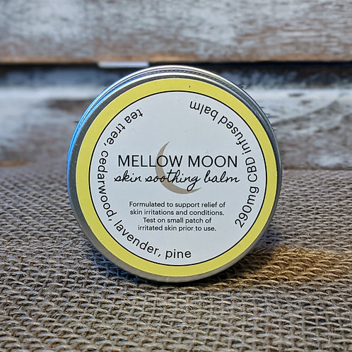 Mellow Moon Skin Soothing Balm, CBD Infused