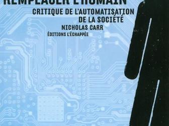 Robot, viendrait de robota (tchèque), travail, besogne. Il faut lire Nicholas Carr.