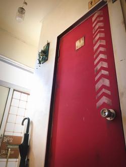 トイレのドア