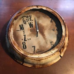 受け皿時計