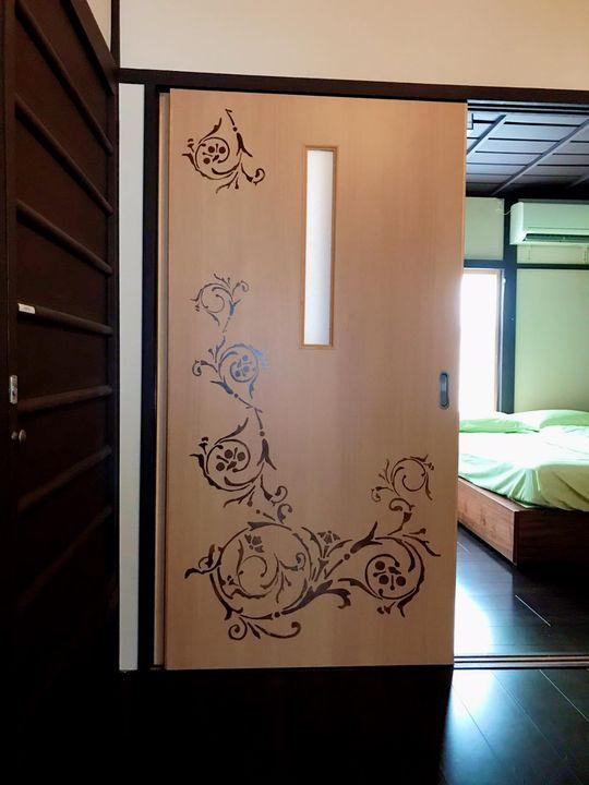 第38ステージ 京都府某所簡易宿泊所 内装デザイン及び館名版作成