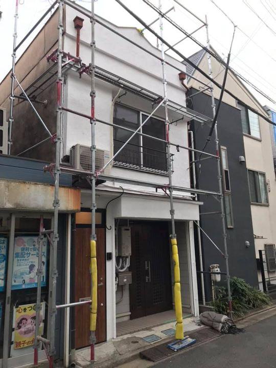 第44ステージ 東京都品川区某所 テラスハウス外装
