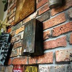 木箱のキーボックス