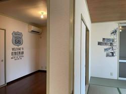 第56ステージ 埼玉県所沢市某所2DKアパート内装