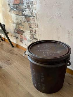 錆風塗装 ポリ缶リメイク