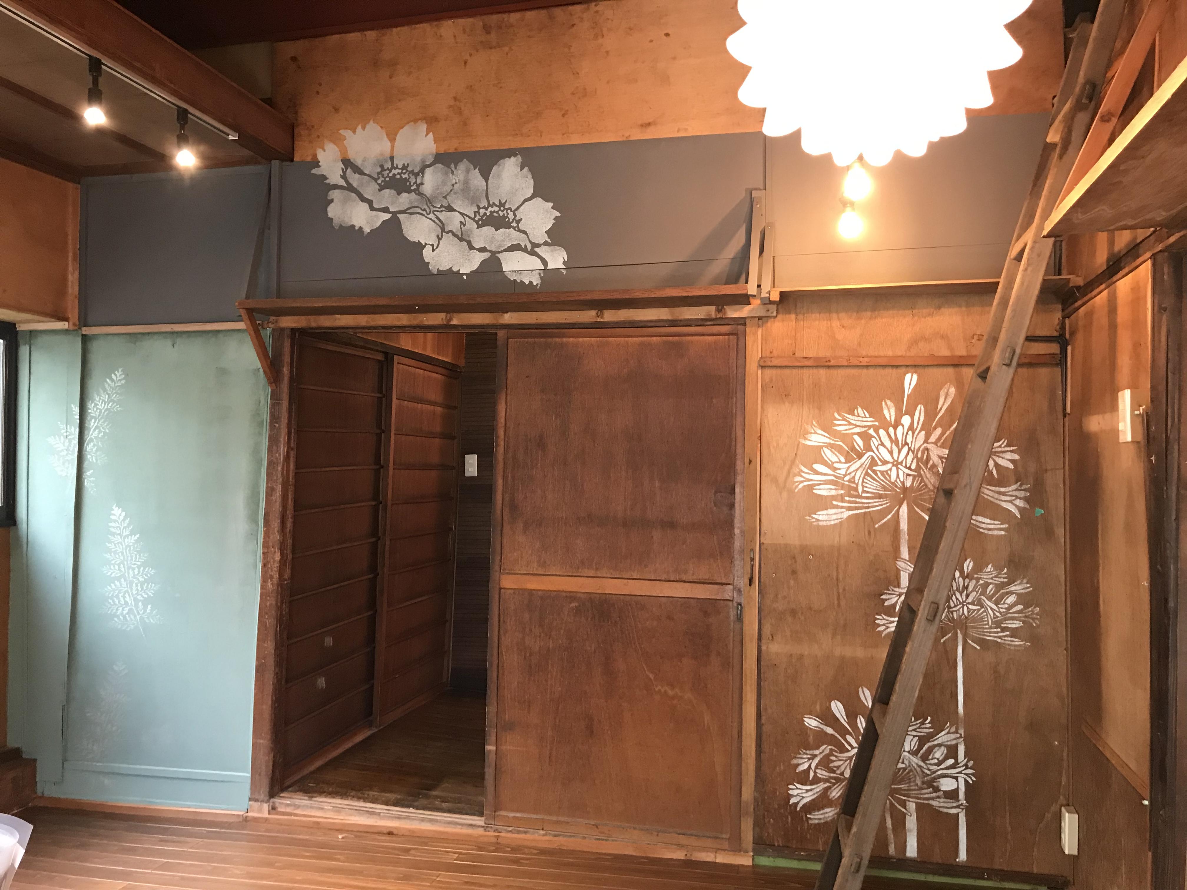 第21ステージ上十条戸建洋室内装DIY