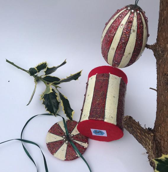 Striped Candy Tin Base
