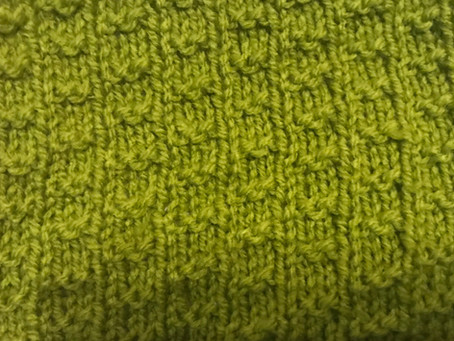 Block Four - Little Ladders Stitch - The Art of Knitting