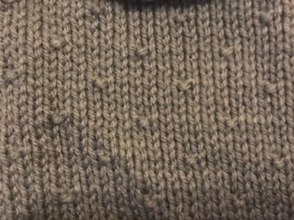 Block 7 - Seed Stitch - the Art of Knitting