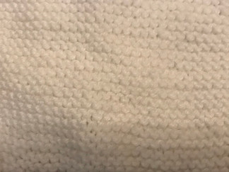 The Art of Knitting - Block One - Garter Stitch