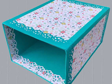 NEW PRODUCT - TABLE TOP BIN - UPCYCED
