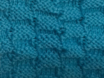Block 3 - Chequerboard Stitch - The Art of Knitting