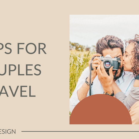 3 Tips for Couples Travel