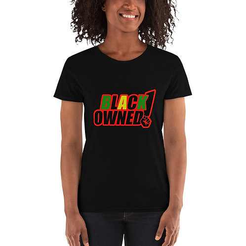 Women's Black Owned T-shirt