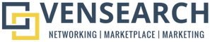 VENSEARCH Logo - Networking, Marketplace