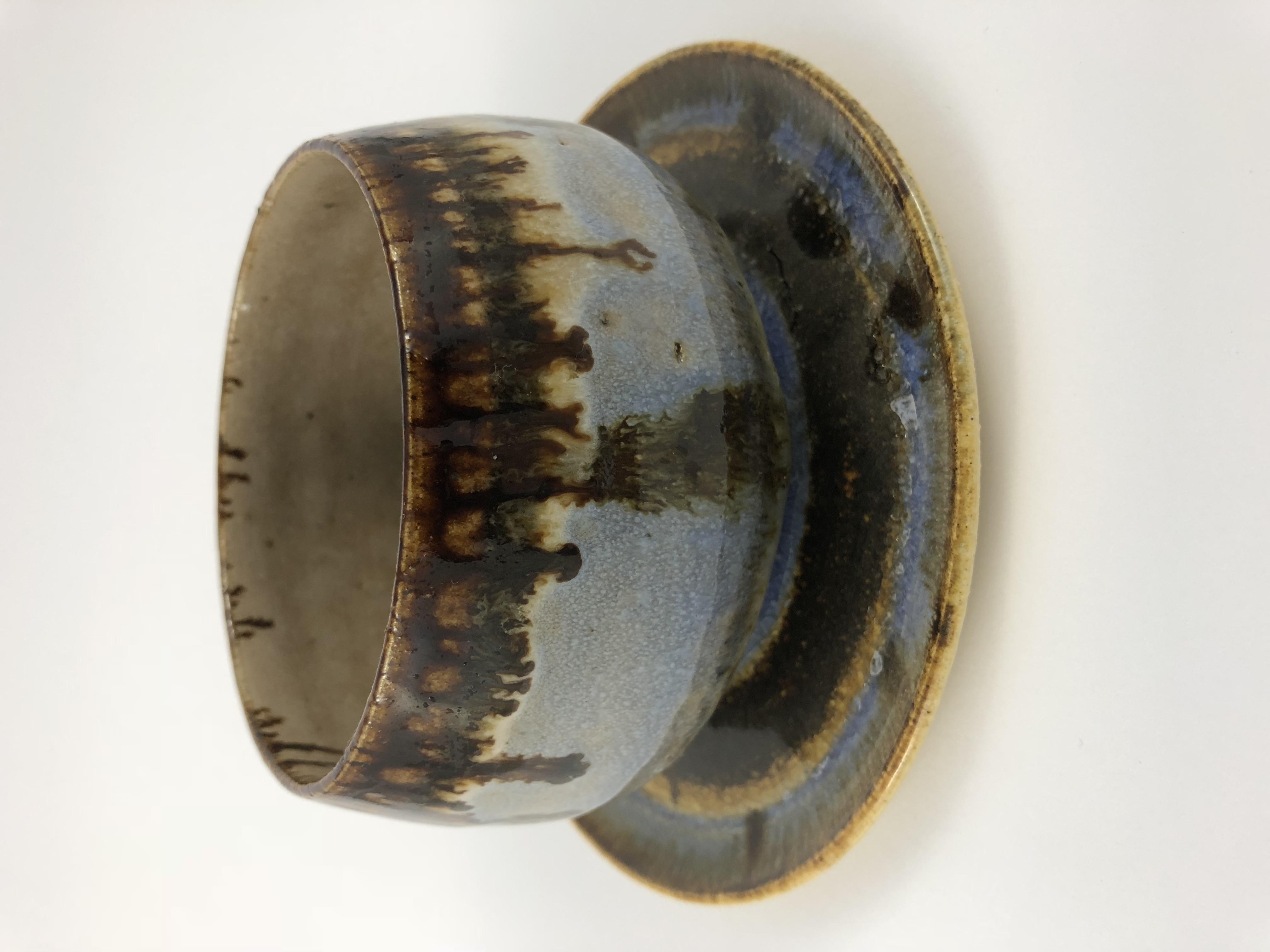 Bowl e Pratinho de Cerâmica