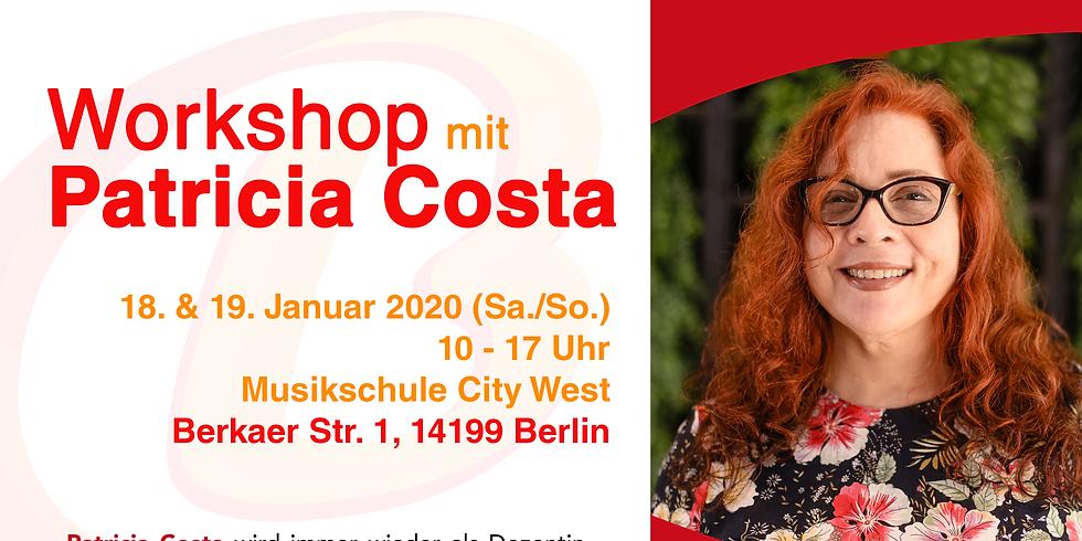 Workshop mit Patricia Costa