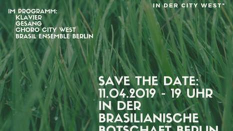 """3-jähriges Jubiläum """"Brasilianische Musik in der City West"""""""