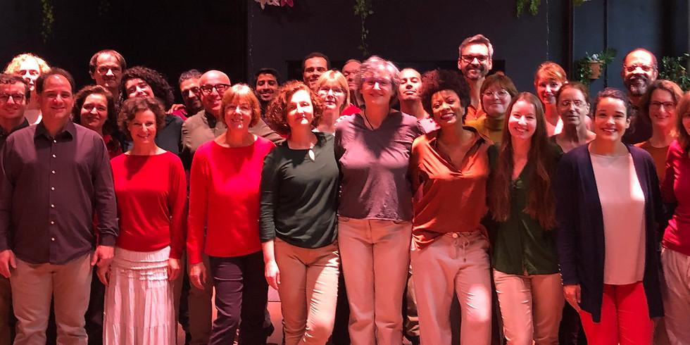 Treffen des brasilianischen Chören in Deutschland