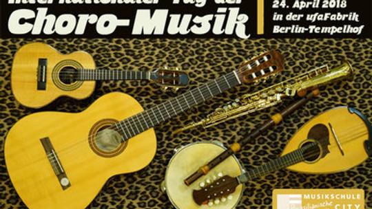 Internationaler Tag der Choro-Musik an der Ufa-Fabrik!