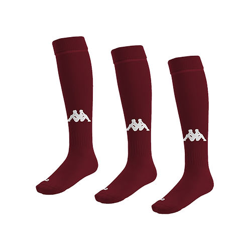 Penao Sock Burgundy/White