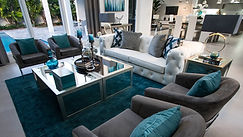 Beautiful staged living area