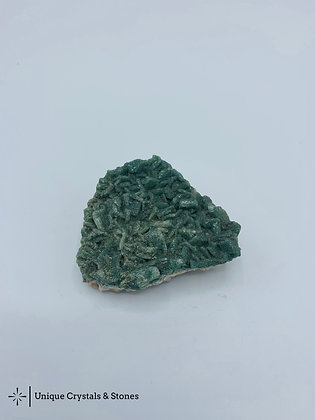 Green Calcite Cluster