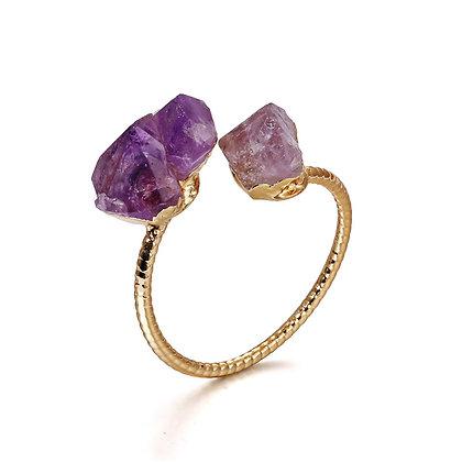 Amethyst Stone Ring