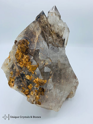 Smoky Quartz -  Standing Rough Specimen 5.22 KG