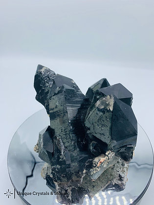 Black Smoky Quartz Cluster 1.43 KG
