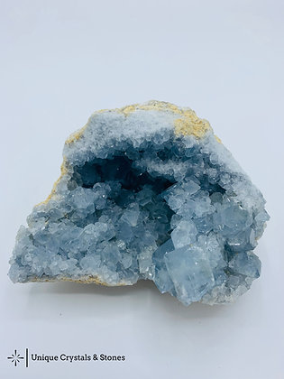 Celestite Geode - Madagascar 890g