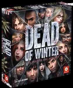 Boite du jeu de société dead of winter a la croisée des chemins