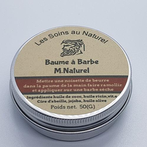 Baume à barbe M. Naturel