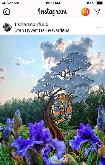 Stan Hywets Instagram Post - Hillside of