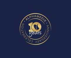 עיצוב לוגו   אלפאמדיקס
