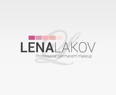 LENA LAKOV | עיצוב לוגו