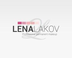 LENA LAKOV   עיצוב לוגו