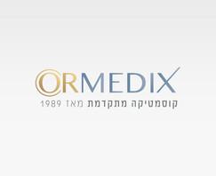 Ormedix   עיצוב לוגו