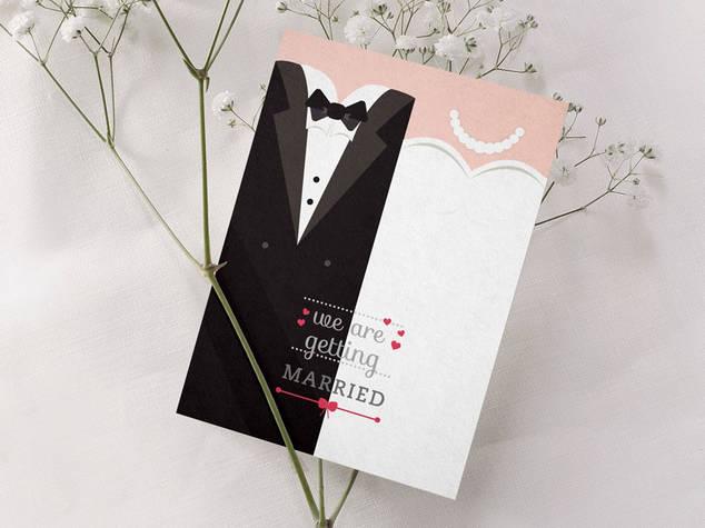 הזמנה לחתונה דגם 005