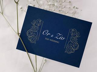 הזמנה לחתונה דגם 013